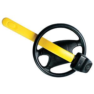 Stoplock Professional Car Van Yellow AntiTheft High Security Steering Wheel Lock