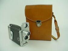 Bell & Howell 16mm Megazine 200 Movie C-Mount Film Camera w/2 Finders-Works Good