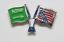 縮圖 3 - PIN'S Insignia FIFA WORLD CUP 1994 Estados Unidos MUNDIAL USA Banderas Futbol