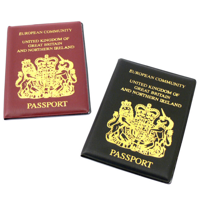 PASSPORT COVER WALLET HOLDER ID PROTECTOR COVERS CASE TRAVEL HOLIDAY EUROPEAN UK