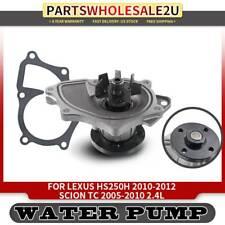 Water Pump for Toyota Camry 2002 2003-2011 Corolla Matrix Rav4 Lexus 2.4L DOHC