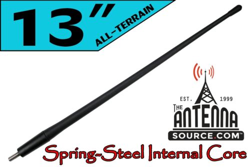 "ALL-TERRAIN 13/"" RUBBER ANTENNA MAST 2001-2009 Toyota Sequoia FITS"