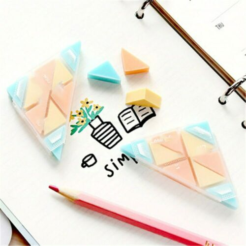 1Pc Novelty Creative Triangle Eraser Praise Gifts School Office Supplies