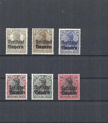 Bayern Postfrisch ** Katalogwert € 6,50 Ein GefüHl Der Leichtigkeit Und Energie Erzeugen 1919 Michelnummern: Aus 136-151 **