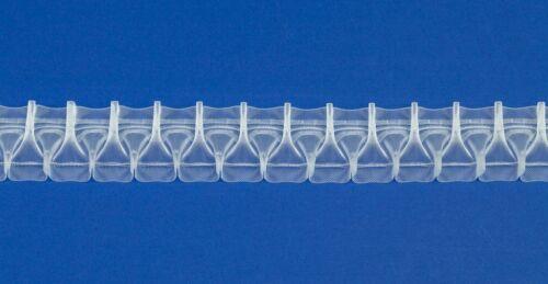 Stoffverhältnis 1:3.0-10 m Breite 50 mm Smokfaltenband Isolde