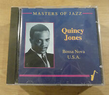 CD QUINCY JONES - Bossa Nova U.S.A - Masters of Jazz