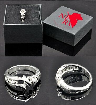 Neon Genesis Evangelion EVA Cosplay Spear of Longinus Ring 1PCS with Gift Box