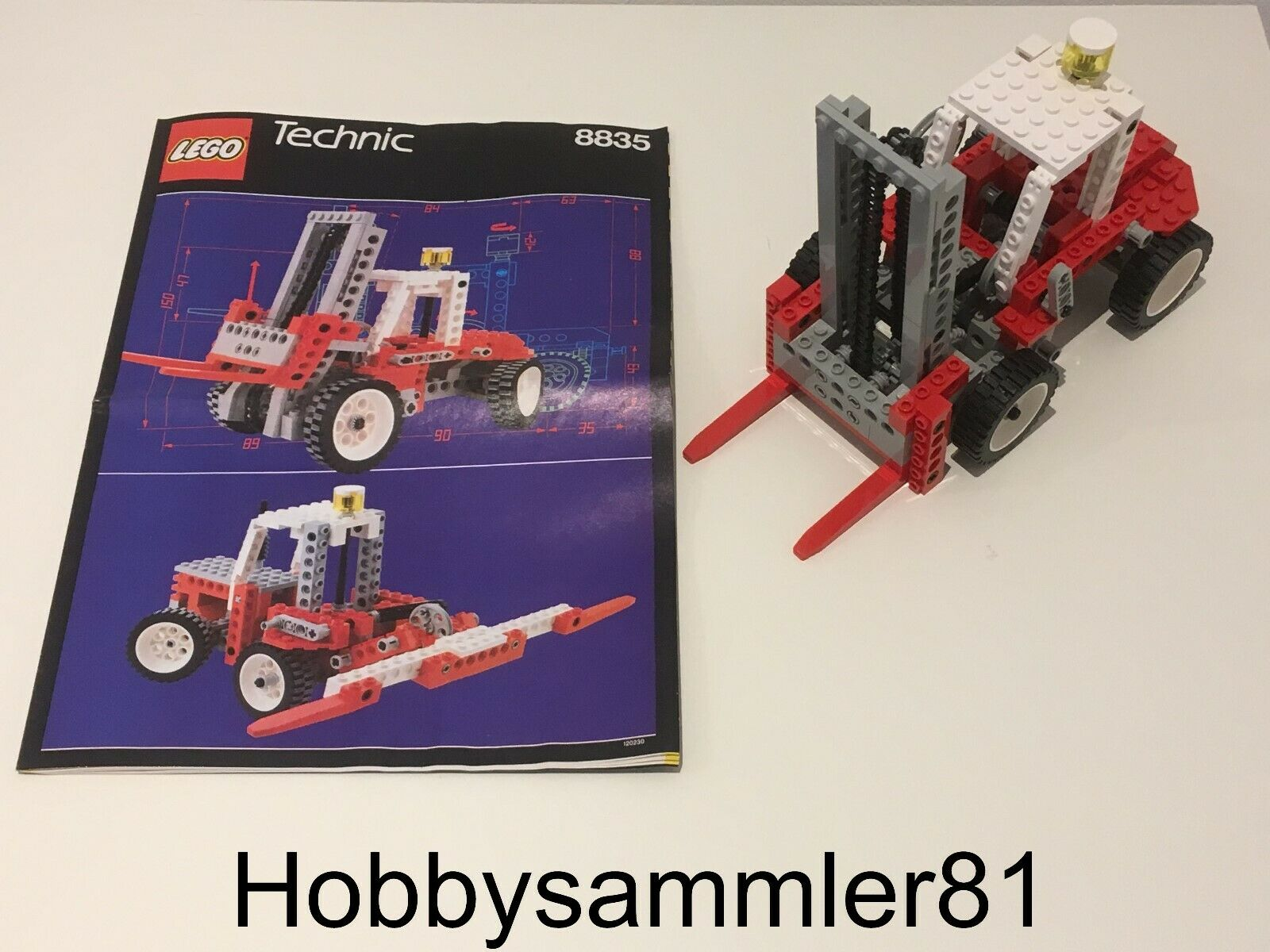 Lego® 8835 Technic Forklift - Gabelstapler