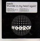 (CN643) Meck, Thunder In My Heart Again - 2005 DJ CD