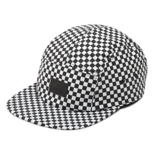 Vans DAVIS 5 Panel Camper Hat (NEW) Mens Cap CHECKERS CHECKERBOARD ... 9f80cdd6563