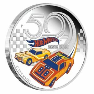 50-Years-of-Hot-Wheels-2018-1oz-Silver-Proof-Coin