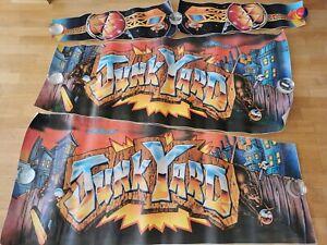 Flipper Decal Junkyard, Pinball Automat Junk Yard Aufkleber