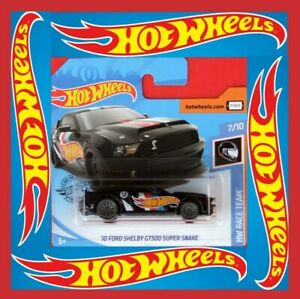 Hot-Wheels-2019-039-10-Ford-Shelby-gt500-HW-Race-Team-192-250-neu-amp-ovp