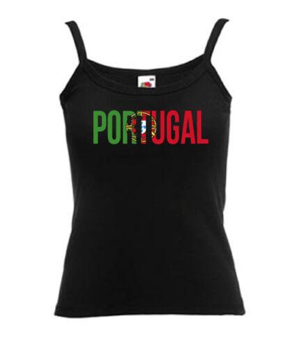 Débardeur bretelles noir femme FRUIT OF THE LOOM PORTUGAL