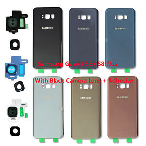 OEM-Battery-Cover-Glass-Housing-Rear-Back-Door-Tape-For-Samsung-Galaxy-S8-S8