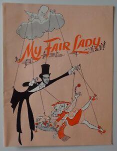 Program My Fair Lady 1964 Ray Milland Kenley Players Columbus Ohio