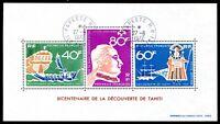 POLYNESIE 1968 BLOCK1 gest 180€(J5398