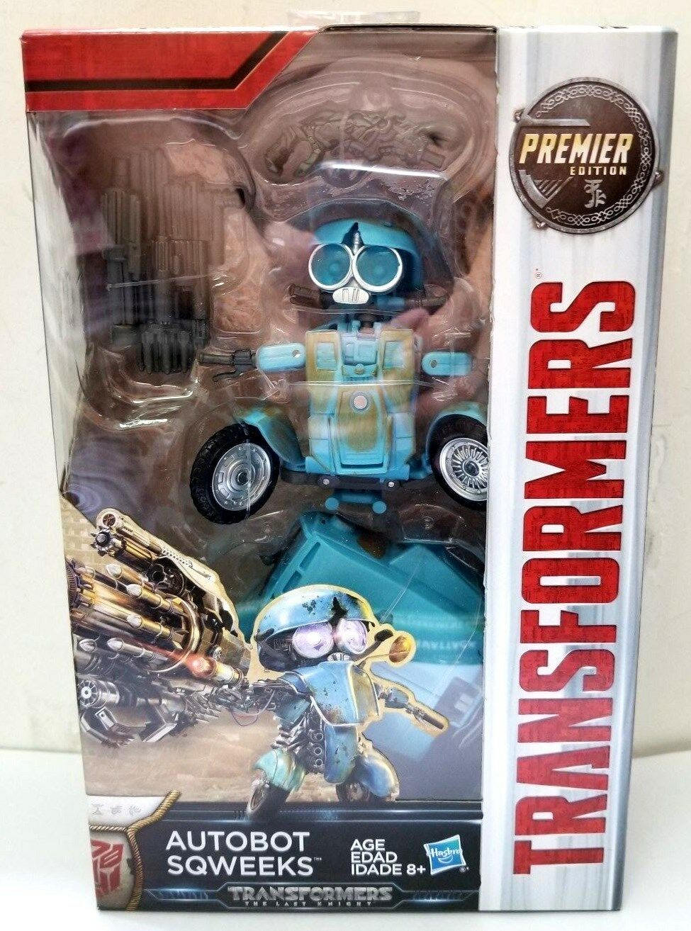 HASBRO HASBRO HASBRO TRANSFORMERS MOVIE 5 THE LAST KNIGHT SQWEEKS Premier Edition 0314b7