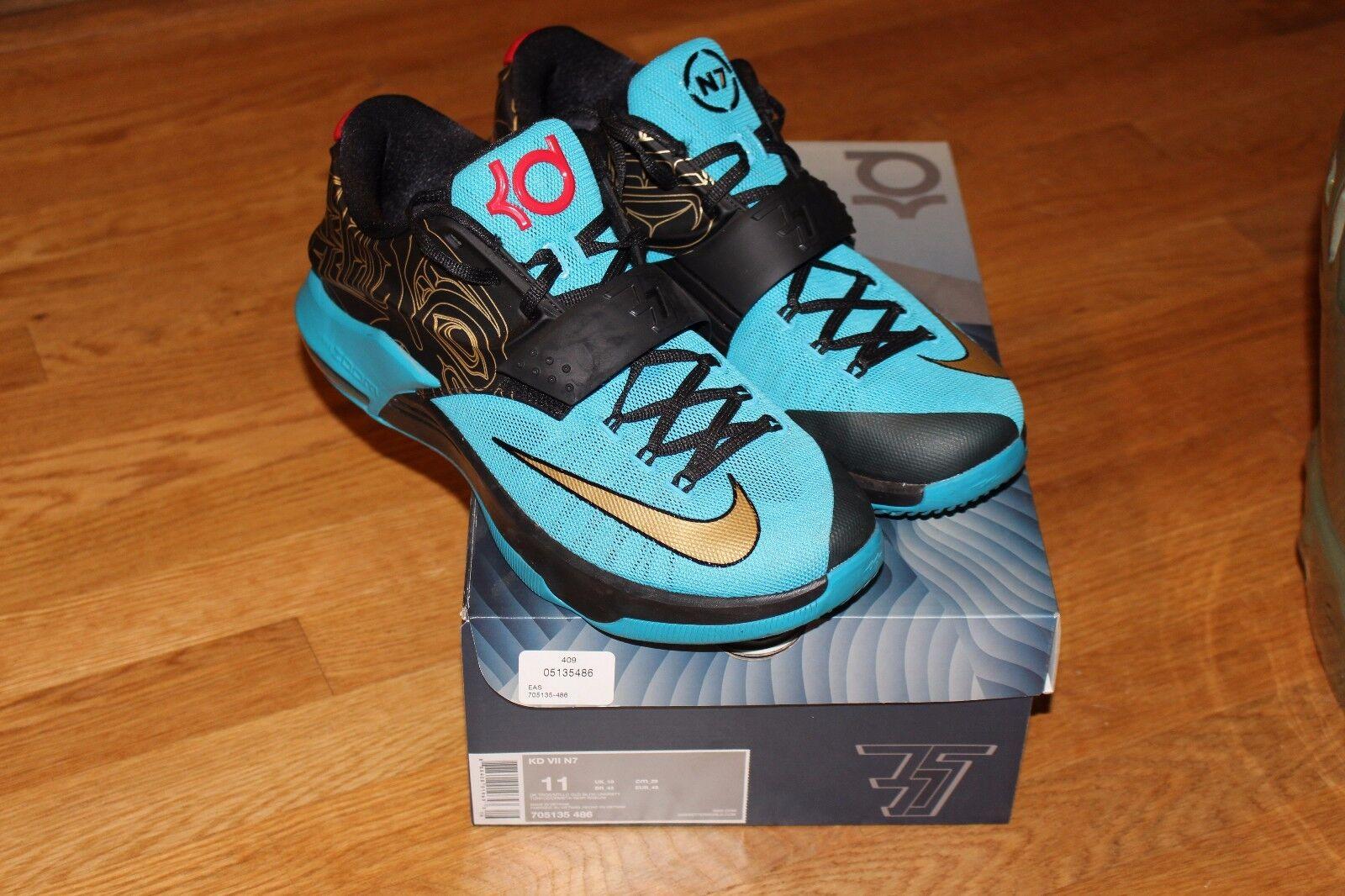 Nike kd 7 n7 vnds vnds vnds größe 11 mit original - box cecdd9