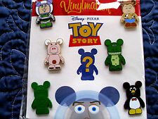 Disney * VINYLMATION - TOY STORY * Retired 7-Pin Booster Set w/ Mystery Chaser