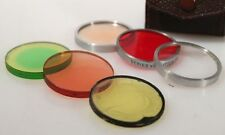 40MM FILTER SET W/ CASE INCLUDING +3 CLOSE UP, C4 AND MORE