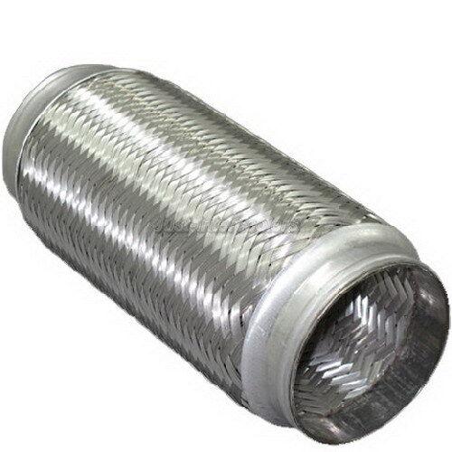 "Exhaust Muffler Flex Pipe Stainless Steel 3.5/"" X 10/"""