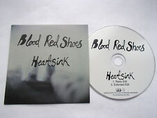 BLOOD RED SHOES - HEARTSINK - RARE 2 TRK PROMO CD