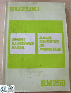 99011-28C50-01B-Manual-Del-Propietario-Suzuki-RM250-K-EN-FR
