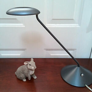 Details About Steelcase Kast Led Lamp Energy Efficient Office Desk Light Charcoal Black New