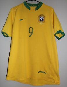 A imagem está carregando 2006-08-Nike-Brasil-Time-Nacional-Jersey-Tamanho- b2727a2ddaad5