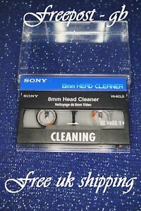SUPER-SONY-V8-6CLD-Video-8-8mm-Hi8-amp-Digital-8-Head-Cleaning-Tape-Cassette