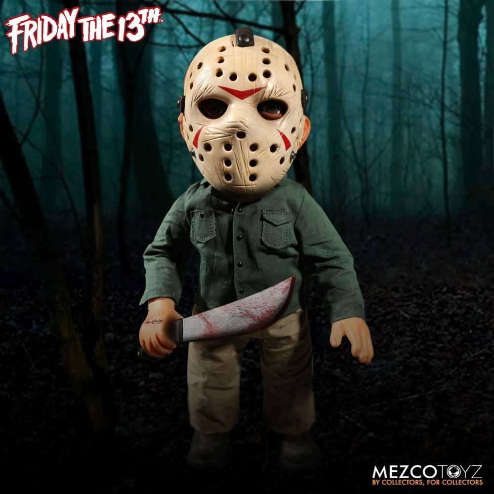 Friday the 13th Jason Voorhees 15'' Mega action figure w  Sound 15in by Mezco