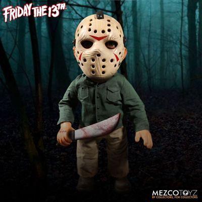 """Mezco Jason Voorhees Friday the 13th Mega échelle 15/"""" poupée avec Sound Figure NEW"""