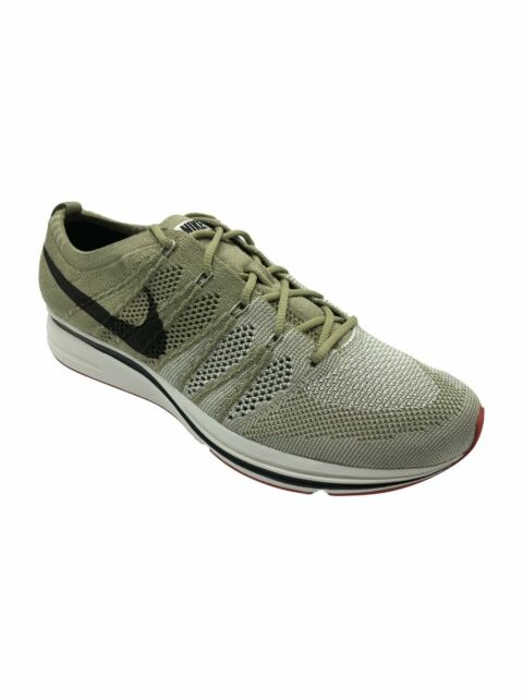 1426c8ff4054 Nike Flyknit Trainer Neutral Olive Velvet Running Shoes ( Ah8396 201 ) Size  11