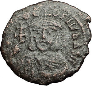 THEOPHILUS-835AD-Constantinople-Follis-Ancient-Medieval-Byzantine-Coin-i58952