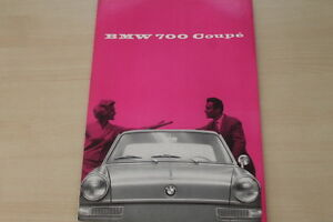 Berichte & Zeitschriften 178468 Bmw 700 Coupe Prospekt 08/1959 NüTzlich FüR äTherisches Medulla