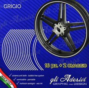 Adhesive-Strips-Tape-Wheel-Motorcycle-Grey-6-mm-Wheels-17-15-14-13-Inches