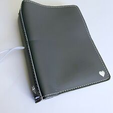 Foxy Fix B6 Sugar Icing Travelers Leather Notebook Gray