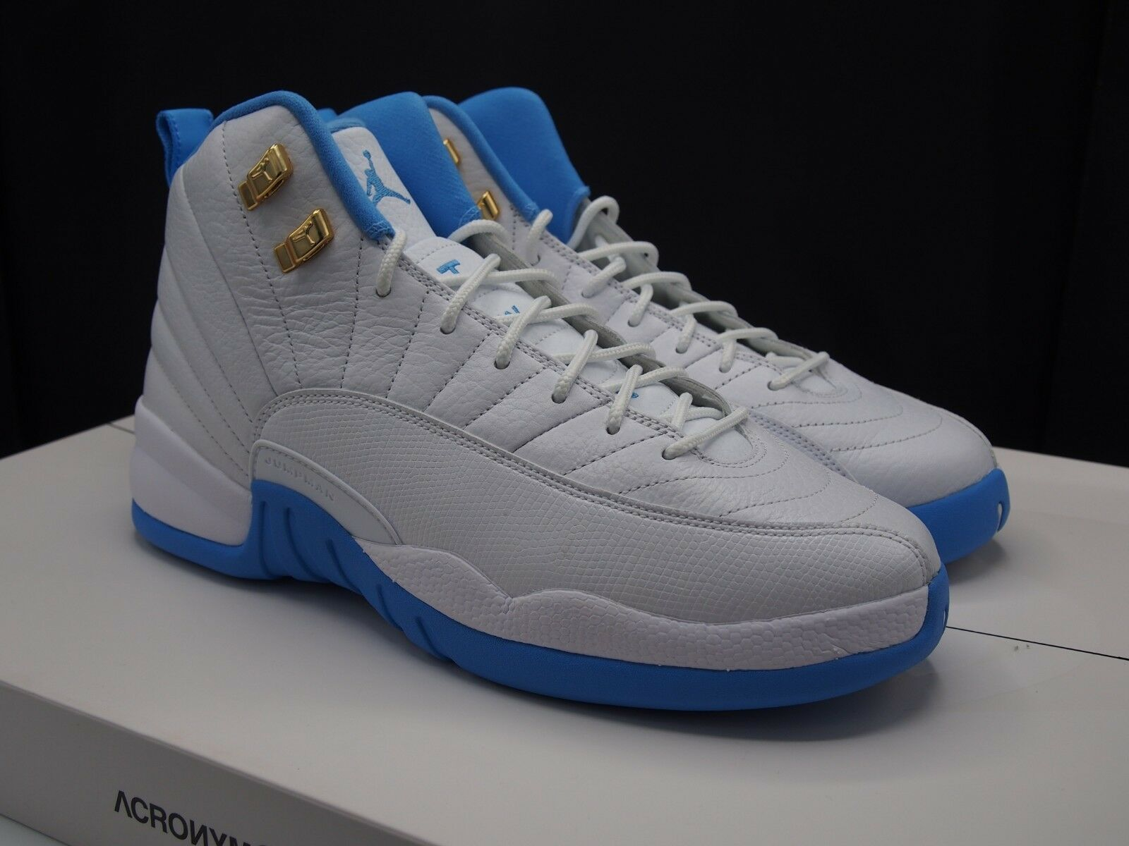 Nike Air Jordan XII 12 Retro  Melo  University bluee size 9.5 US