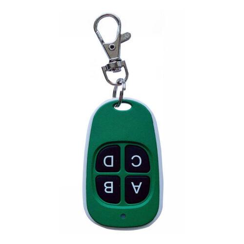 4 touches télécommande 433 MHz le clonage sans fil porte de garage porte-clés