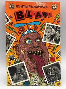BLAB-4-Book-Robert-Crumb-Spain-Dan-Clowes-Kitchen-Sink-1989