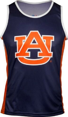 NCAA Men/'s Auburn University Tigers RUN//TRI Singlet