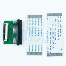 """ZIF Ce 1.8"""" To TOShiba 1.8"""" 50Pin Hard Disk Converter Adapter With Two Cables YG"""