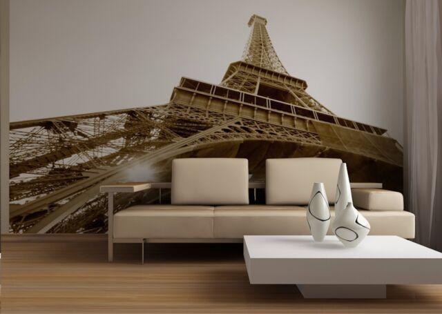 BIG Wall Mural Photo Wallpaper EIFFEL TOWER PARIS Living Room Bedroom Decor  Art