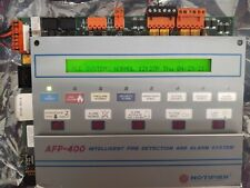 Used Notifier Afp 400 Fire Alarm Control Panel With Cpu 400 Main Board