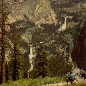 Vintage 1946 Yosemite National Park Luncheon Menu Vernal Nevada Falls Glacier