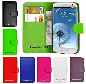 Book-Wallet-Flip-Leather-Stand-Case-Cover-For-Various-Samsung-Galaxy-Mobile