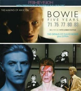 David-Bowie-Five-Years-The-Making-Of-An-Icon-BBC-Blu-ray-1-Disc-Music-Rock-F-S