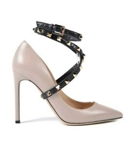 Valentino Poudre Rockstud Ankle Wrap