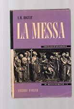 la messa - aa.m.roguet - collana pastorale